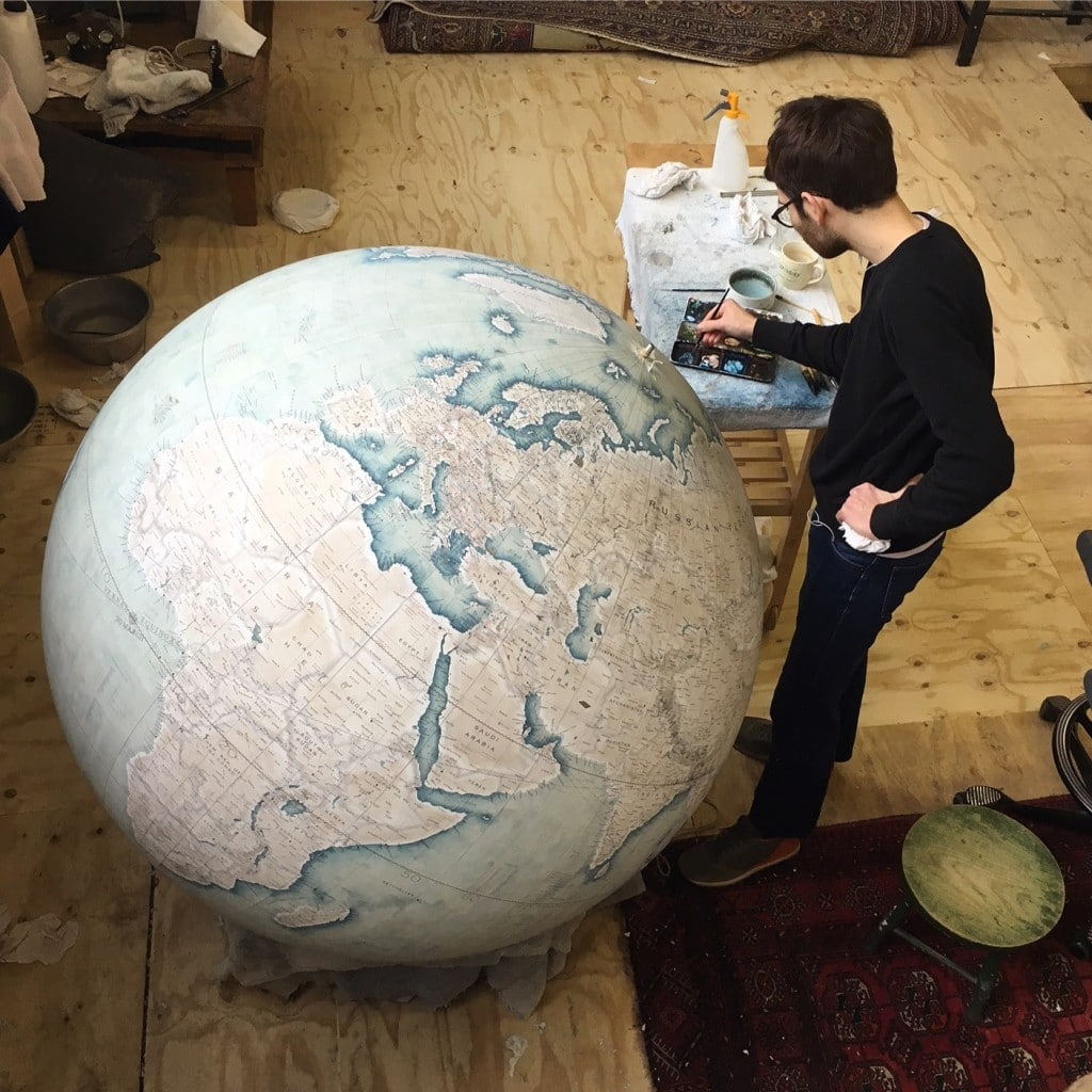 Bellerby_Churchill_Globe_Globemakers