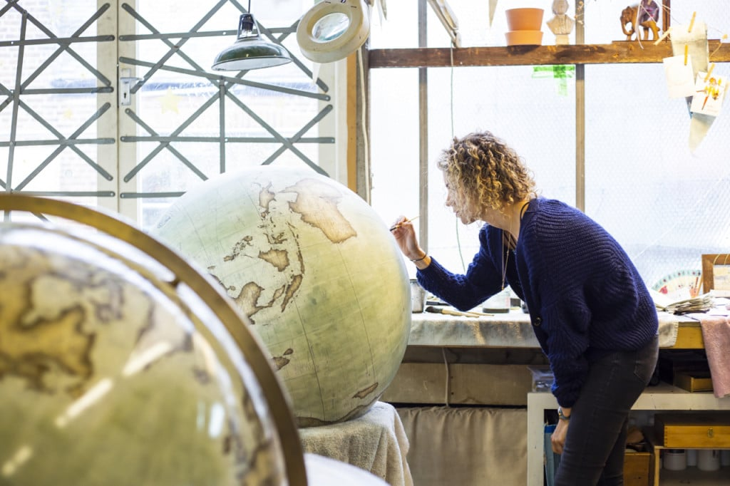 Bellerby Globemakers / Citibank Project